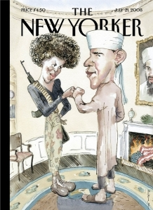 """The New Yorker"" asks, ""Why so serious?"""