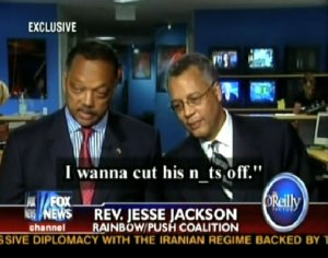 Rev. Jackson contemplates Sen. Obama's testicles