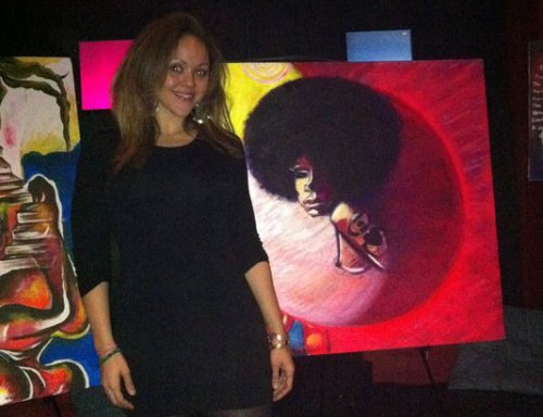 Event: The Art of Layla J. Merritt at Bamboo Lounge (Feb. 3)